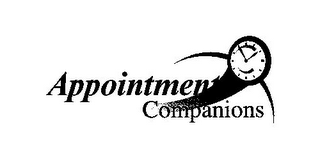 mark for APPOINTMENT COMPANIONS, trademark #77276489