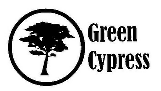 mark for GREEN CYPRESS, trademark #77278763
