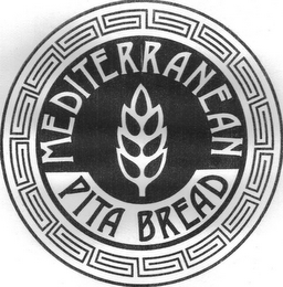 mark for MEDITERRANEAN PITA BREAD, trademark #77282386
