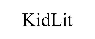 mark for KIDLIT, trademark #77283376