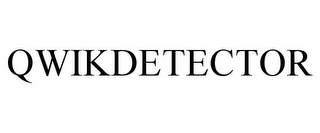 mark for QWIKDETECTOR, trademark #77284334