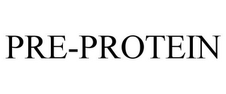 mark for PRE-PROTEIN, trademark #77284604