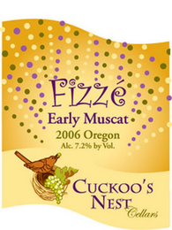 mark for FIZZÉ EARLY MUSCAT 2006 OREGON ALC. 7.2% VOL. CUCKOO'S NEST CELLARS, trademark #77284769