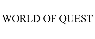 mark for WORLD OF QUEST, trademark #77288381