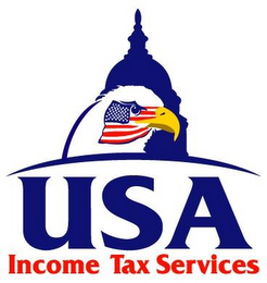 mark for USA INCOME TAX SERVICES, trademark #77289471