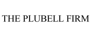 mark for THE PLUBELL FIRM, trademark #77291203