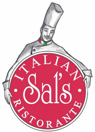 mark for SAL'S ITALIAN RISTORANTE, trademark #77292879