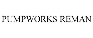 mark for PUMPWORKS REMAN, trademark #77293146