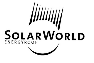 mark for SOLARWORLD ENERGYROOF, trademark #77294008