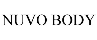 mark for NUVO BODY, trademark #77294680