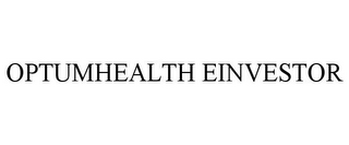 mark for OPTUMHEALTH EINVESTOR, trademark #77297787