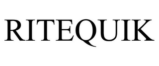 mark for RITEQUIK, trademark #77301950