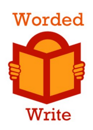 mark for WORDED WRITE, trademark #77302821