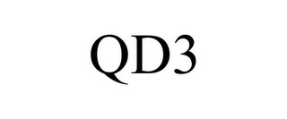 mark for QD3, trademark #77304754
