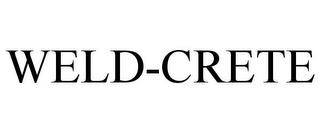 mark for WELD-CRETE, trademark #77306166