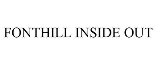 mark for FONTHILL INSIDE OUT, trademark #77307221