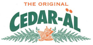 mark for THE ORIGINAL CEDAR-ÄL, trademark #77308269