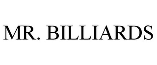 mark for MR. BILLIARDS, trademark #77310683