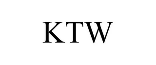 mark for KTW, trademark #77311271