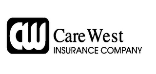 mark for CW CARE WEST INSURANCE COMPANY, trademark #77312758
