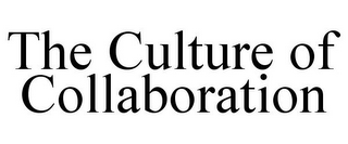 mark for THE CULTURE OF COLLABORATION, trademark #77317037