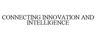 mark for CONNECTING INNOVATION AND INTELLIGENCE, trademark #77317145