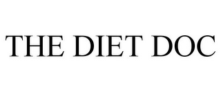 mark for THE DIET DOC, trademark #77319226