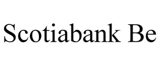 mark for SCOTIABANK BE, trademark #77320322