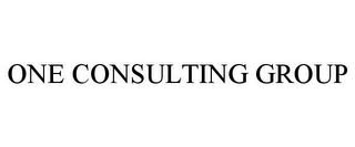 mark for ONE CONSULTING GROUP, trademark #77324376