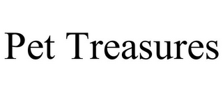 mark for PET TREASURES, trademark #77325274