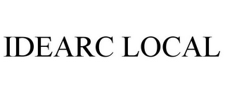 mark for IDEARC LOCAL, trademark #77327039
