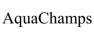 mark for AQUACHAMPS, trademark #77329105