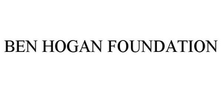 mark for BEN HOGAN FOUNDATION, trademark #77331628