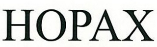 mark for HOPAX, trademark #77332927
