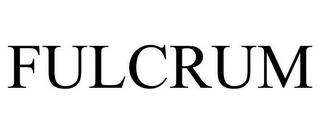 mark for FULCRUM, trademark #77333308
