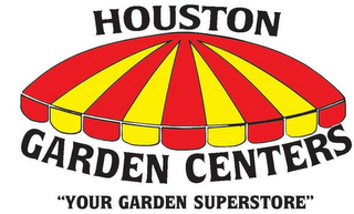 "mark for HOUSTON GARDEN CENTERS ""YOUR GARDEN SUPERSTORE"", trademark #77334013"