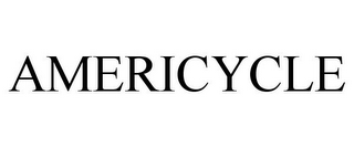 mark for AMERICYCLE, trademark #77335617
