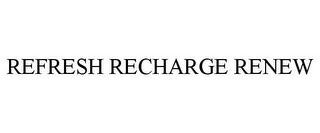 mark for REFRESH RECHARGE RENEW, trademark #77336699