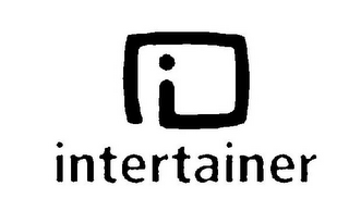 mark for I INTERTAINER, trademark #77338774