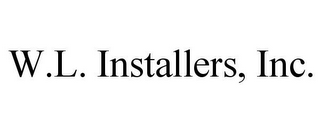 mark for W.L. INSTALLERS, INC., trademark #77341945
