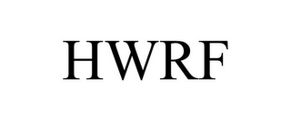 mark for HWRF, trademark #77343734