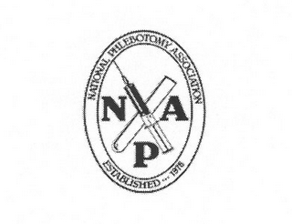 mark for NATIONAL PHLEBOTOMY ASSOCIATION NPA ESTABLISHED 1978, trademark #77346450