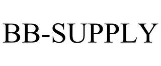 mark for BB-SUPPLY, trademark #77346457