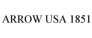 mark for ARROW USA 1851, trademark #77347737