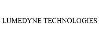 mark for LUMEDYNE TECHNOLOGIES, trademark #77348339