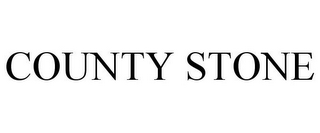 mark for COUNTY STONE, trademark #77351122