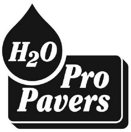 mark for H2O PRO PAVERS, trademark #77351156