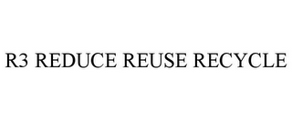mark for R3 REDUCE REUSE RECYCLE, trademark #77351159