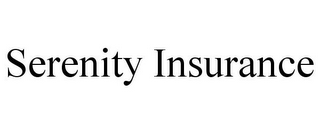 mark for SERENITY INSURANCE, trademark #77351261