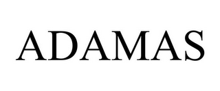 mark for ADAMAS, trademark #77352445